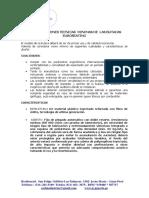 ESPECIFICACIONES TECNICAS MINIMAS MODELO BOGART