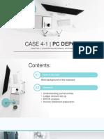 Principles of Accounting_CASE NO. 4 - PC DEPOT