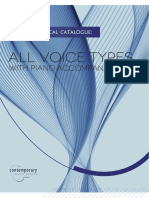 CMC Vocal Catalogue