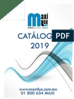 Catálogo MAXILUX 2019