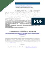 Fisco e Diritto - Corte Di Cassazione n 23400 2010