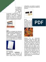 Herramientas de Artes Plasticas y Angulos