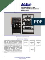 Sistema Electromecánico (EMS) de 0,2 kW