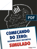 Simulado Raciocínio Lógico — Márcio Flávio