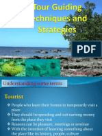 Tour Guiding Techniques and Strategies