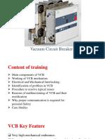 Vacuum Circuit Breaker Training