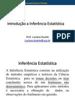 Aula 07 Introdução a inferência estatística