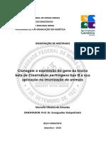 Clostridium Perfringens marcelle