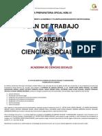 PLAN DE ACADEMIAS CIENCIAS SOCIALES