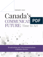 Broadcasting and Telecommunications Legislative Review Panel - Final Report - January 2020