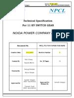 11 kV VCB with 1250A IC  OG 6 Panel board_final