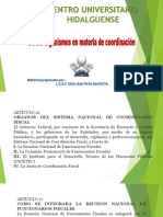ley de coordinacion fiscal