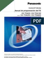 Manual de Programacion Del TE V3.0
