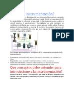 Consulta de Instrumentacion