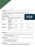 PC resume (2)
