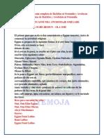 Tratado de la ceremonia completa de Ikofafun ni Orunmila y Awofacan