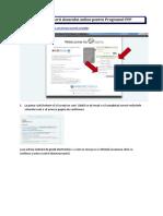 PFP Instruction 2018