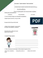 examen español y exploracion