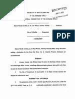 SC Attorney General files lawsuit against City of Columbia over gun ordinances