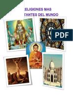5 religiones mas importantes del mundo
