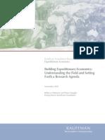 Building Expeditionary Economics