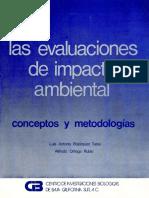 LAS EVALUACIONES DE IMPACTO AMBIENTAL