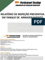 RELATÓRIO DE INSPEÇÃO PREVENTIVA