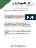 DIRECTRICES DESFILE 26 ENERO 2019