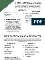 AREAS DE LA ORIENTACIÓN