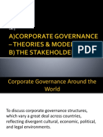 Lec 3-CORPORATE GOVERNANCE – THEORIES & MODEL