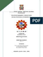 SILABO INGENIERIA DE RIOS