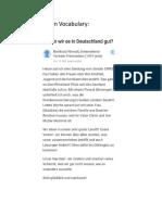 Quora-German-Vocab