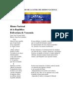SIGNIFICADO DE LA LETRA DEL HIMNO NACIONALenero 2020 sergio