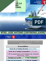 ADJUNTO DE TEORIAS DEL COMERCIO INTERNACIONAL