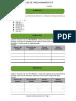 Taller de Direccionamiento IP 2015