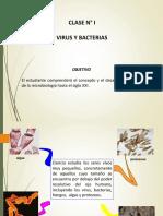 MICROBIOLOGÍA - PRIMERA CLASE