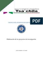 Elaboración de Los Proyectos de Investigación (Autoguardado)