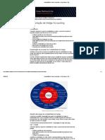 Implantação de Hedge Accounting - César Ramos & Cia