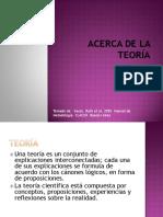 ACERCA DE LA TEORIA