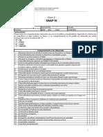SNAP IV para evaluar TDAH