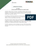 16-01-20 Coordina Salud Sonora atención a lesionados en accidente carretero