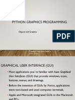Python 2D Graphics