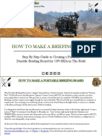 How to Make a Briefing Board