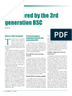 Empowered by the 3rd Generation Bsc
