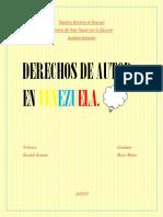 Derechos de autor en venezuela