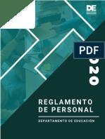 19 Reglamento Personal