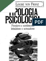 TIPOLOGIA PSICOLOGICA - Marie-Louise von Franz