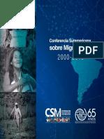 Conferencia Suramericana sobre Migraciones 2000-2015 - ROBUE-OIM 017