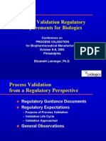 Process Validation for Pharmaceutical -Life Science Organization