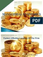 Managerial Economics Final Copy